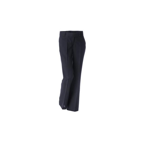 Pantalón poliéster mujer corte recto