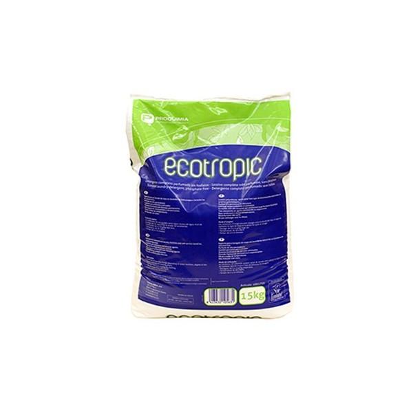 Detergente con sistema Ecotropic