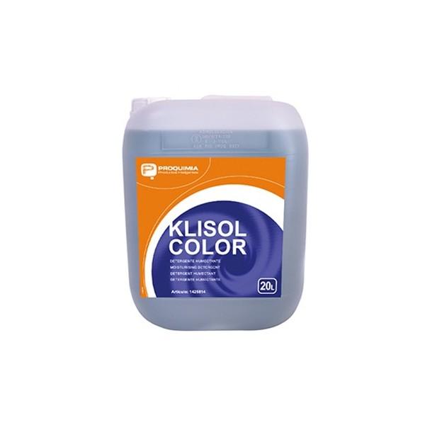 Detergente líquido Klisol Color