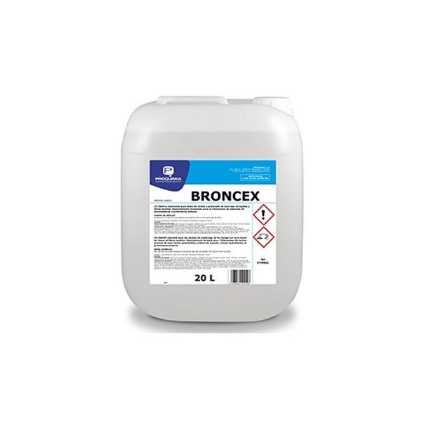 Aditivo disolvente Broncex