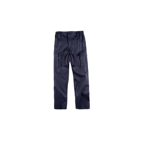 Pantalón multibolsillos strech