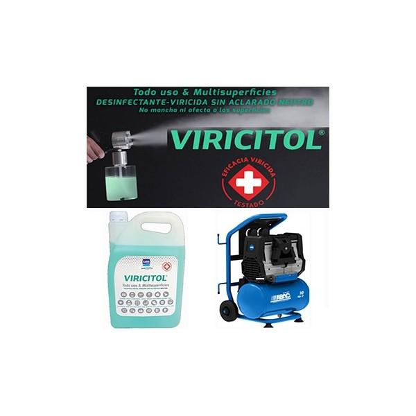 Kit desinfectante viricida