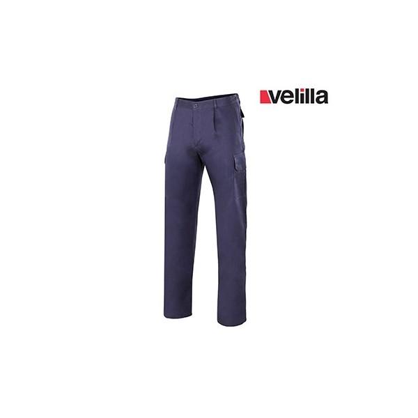 Pantalón algodón multibolsillos