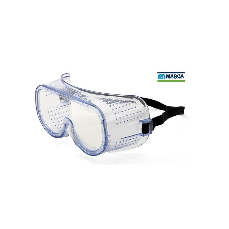 Gafas Integral ocular claro para riesgos mecánicos.