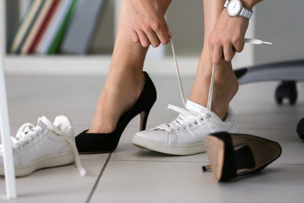 calzado cómodo para el trabajo
